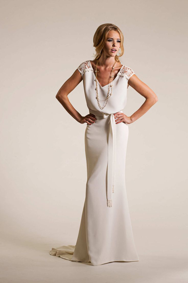 Amy Kuschel Luna Gown at Love and Lace Bridal Salon | Fall Inspired style - www.loveandlacebridalsalon.com/blog