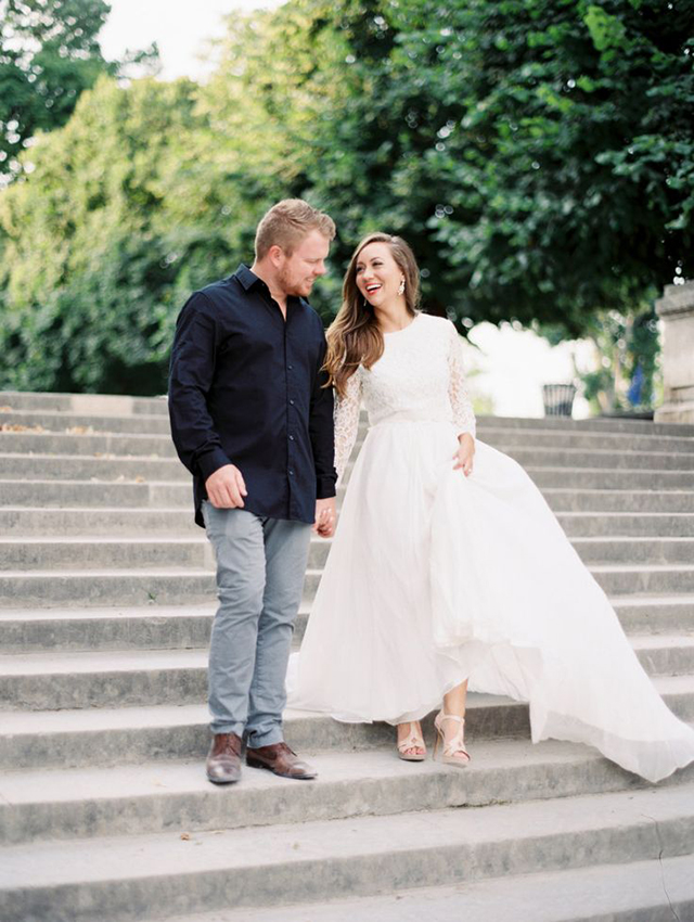 Wedding Anniversary In Tatyana Merenyuk Bridal Style - Love and Lace ...