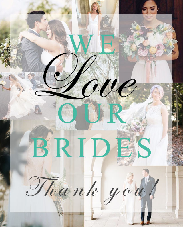 4e7f80920e We LOVE our real Love and Lace Brides - Love and Lace Bridal Blog