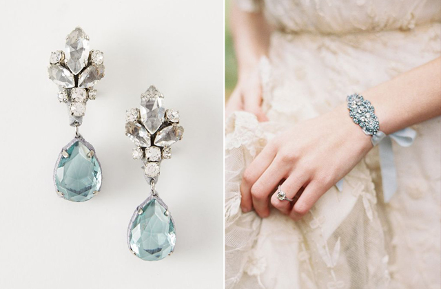 Sweet Something Blue Ideas For You Love And Lace Bridal Blog