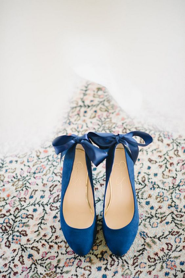 blue shoes wedding sweet something blue ideas for you and lace bridal 1945