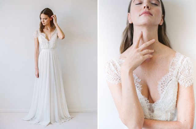 Falling in Love with the Truvelle Trunk Show coming to Love & Lace Bridal Salon in Irvine, CA. | Trunk Show Feb 10-11th | www.loveandlacebridalsalon.com/blog