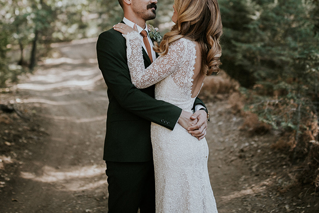 Lace sleeves done right! | Anais Anette Sage Gown | Love and Lace Bridal Salon | Jaicee Morgan Photography | www.loveandlacebridalsalon.com/blog