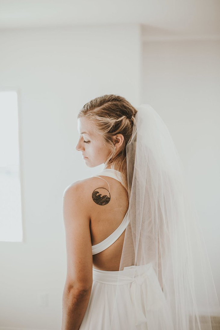 Love and Lace Real Bride Ashton Truvelle Carrall gown | Ben & Kadin Photography | Love and Lace Bridal Salon - www.loveandlacebridalsalon.com/blog