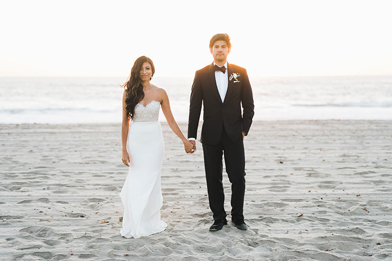 Laiza Matts Sophisticated Beach Wedding Love And Lace Bridal Salon